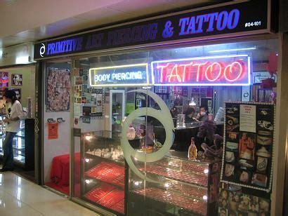 tattoo store singapore primitive art piercing tattoo far east plaza reviews