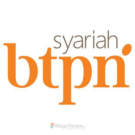 btpn syariah logo vector blogovector