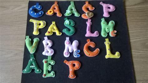 lettere pannolenci portachiavi lettere in pannolenci donna accessori di