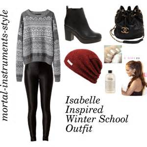 Shower Gel Bubble Bath isabelle lightwood inspired winter school outfit polyvore