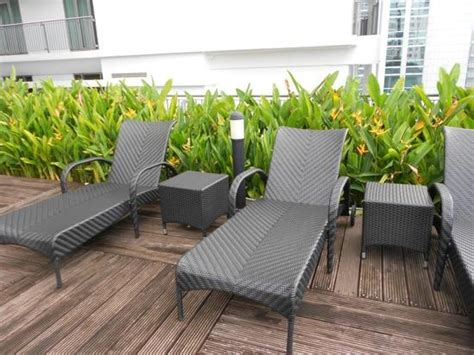 poolside benches poolside chairs picture of ascott kuala lumpur kuala