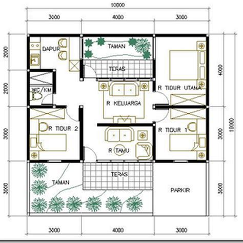 layout rumah ukuran 5 x 10 layout rumah ukuran 5 x 10 85 desain rumah ukuran tanah 10