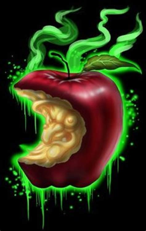 snow white poison apples vintage red apple metal canisters witch apple by lefty joe poisoned apple evil villain fine