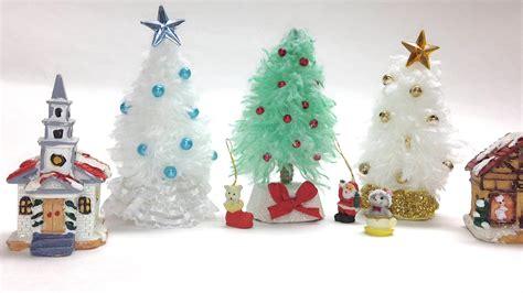 como hacer arboles de navidad mini youtube