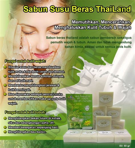 Sabun Temulawak Vs Sabun Beras sabun beras thailand asli agen grosir terpercaya