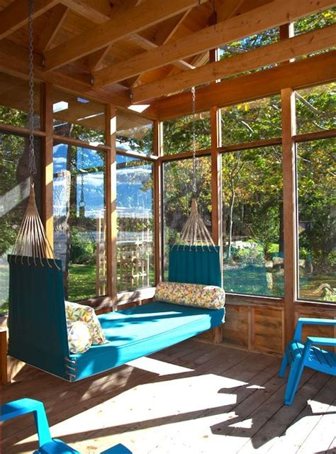 Enclosed Patio Swing 62 Best Sunrooms Images On Porch Enclosures