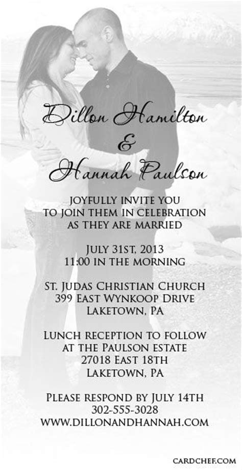 wedding invitation layout exles 17 best images about invitations on pinterest wedding