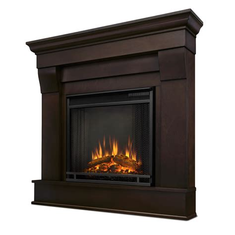 walnut electric fireplace real chateau corner electric fireplace in walnut