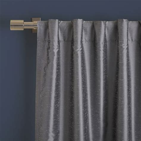 greenwich curtains greenwich curtain blackout liner platinum west elm