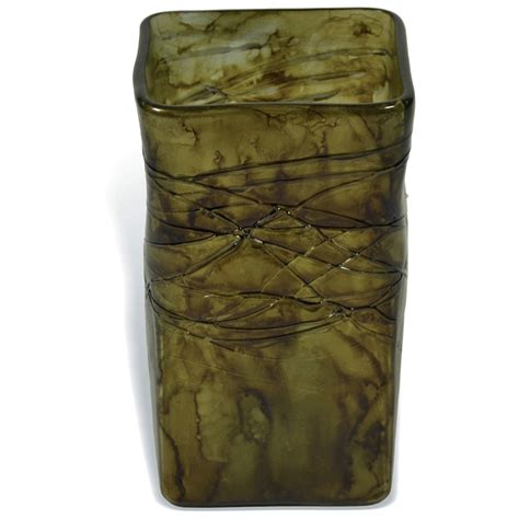 Small Square Vases by Pictured Here Is The Enchanted Forest Square Small Glass
