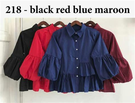 Sale Set Akhawat Rempel Hemat 15000 Sale Cuci Gudang Baju Kerja Wanita Polos