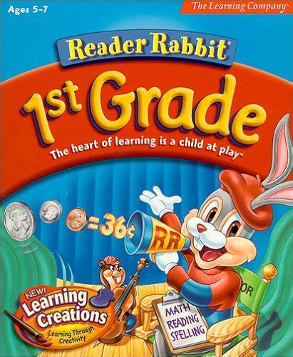 reader rabbit st grade
