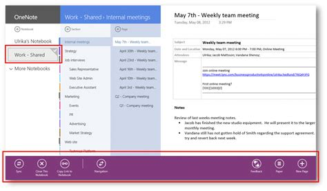 windows 8 onenote tutorial getting started with the onenote app for windows 8