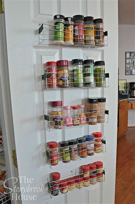 The Door Spice Rack by Easy 1 Diy Spice Racks The Doors Tutorials And