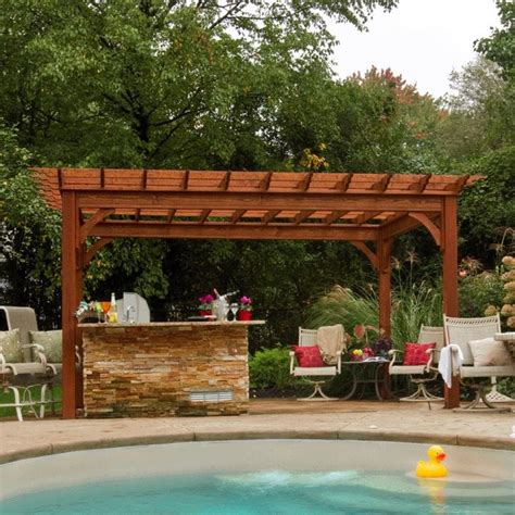 Unique Pool Pergolas To Take Rest In Spare Time Pergolas Pool Pergola Designs