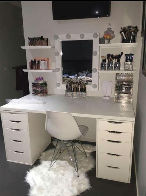 makeup vanity room ideas ριитєяєѕт bellakerz room decor in 2019