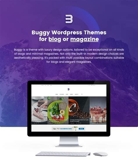 wordpress blog themes journal buggy magazine blog wordpress themes themekeeper com