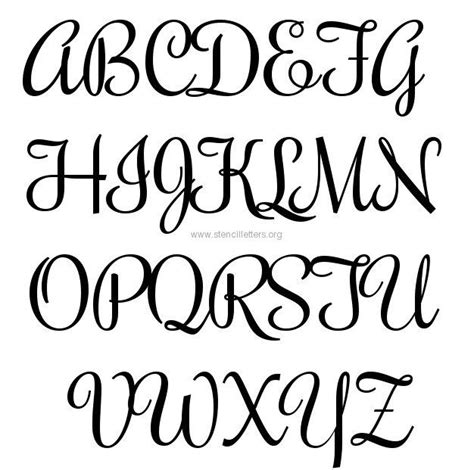 printable sign fonts the 25 best large letter stencils ideas on pinterest