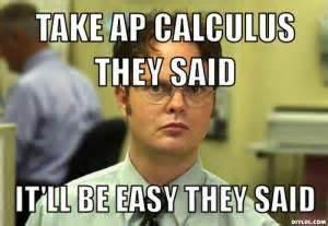 Calculus Meme - they said memes kappit
