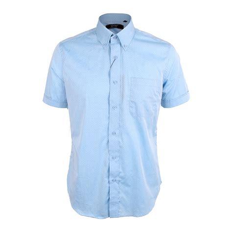 light blue shirt mens s sleeve patterned shirt light blue david wej