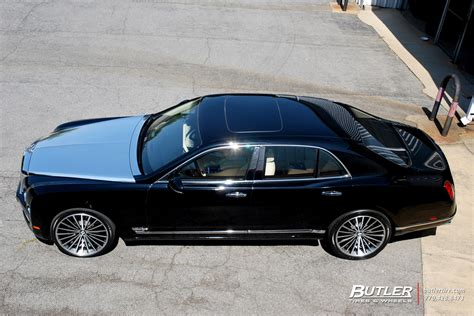custom bentley mulsanne wheels bentley mulsanne with 22in lexani lf forged lf 722 wheels