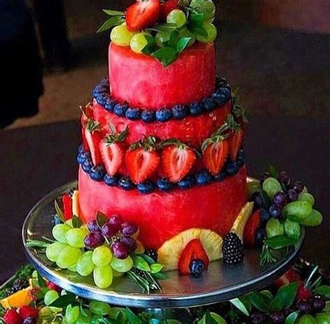 Watermelon Cake Decorating Ideas by 25 Best Ideas About Watermelon Cakes On Fruit