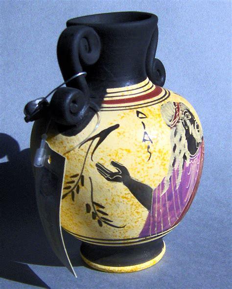 Zeus Vase Ancient Greek Museum Replica Reproduction Vase Zeus