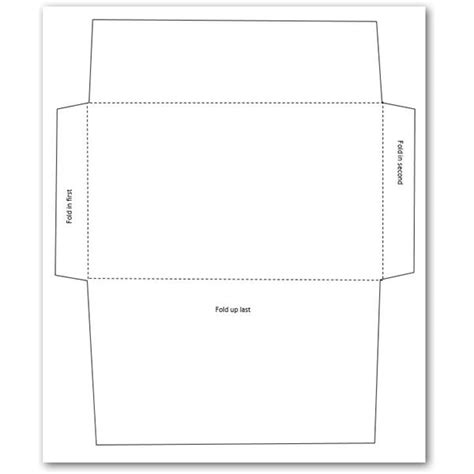 envelope printing template doliquid