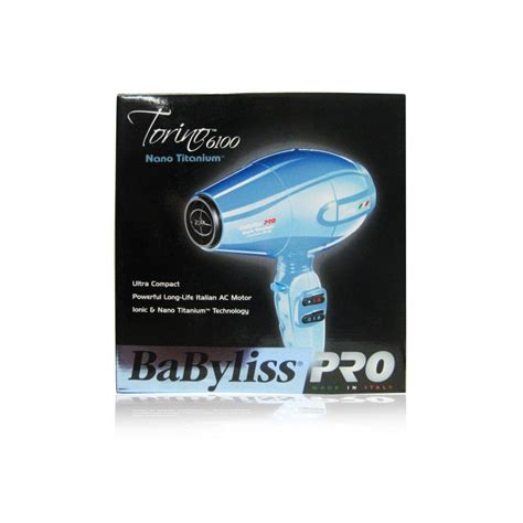 Babyliss Pro Torino Hair Dryer Ionic babyliss pro torino 6100 nano titamium hair dryer