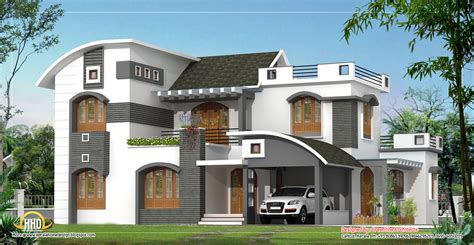 modern design of houses february 2012 kerala home design and floor plans
