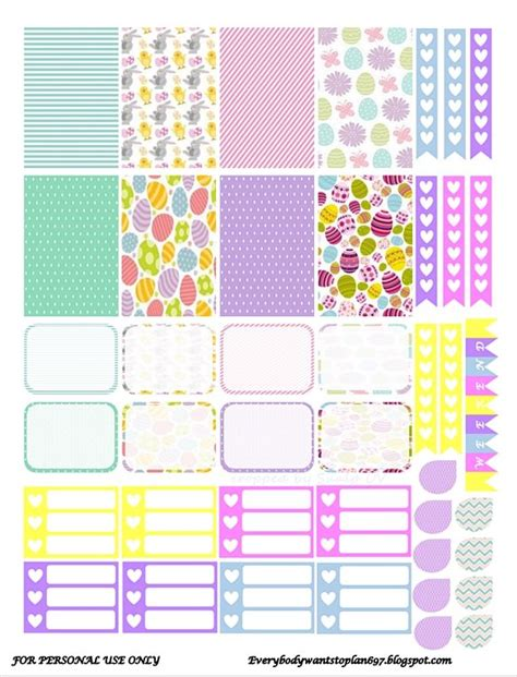 free printable easter planner stickers 219 best planner ideas images on pinterest happy planner