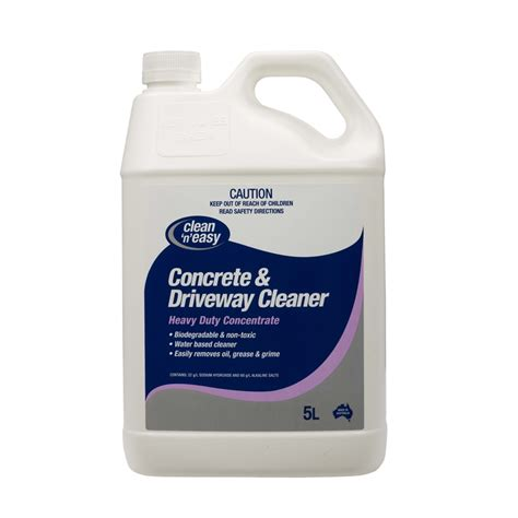 bunnings chemtech 5l concrete and driveway cleaner