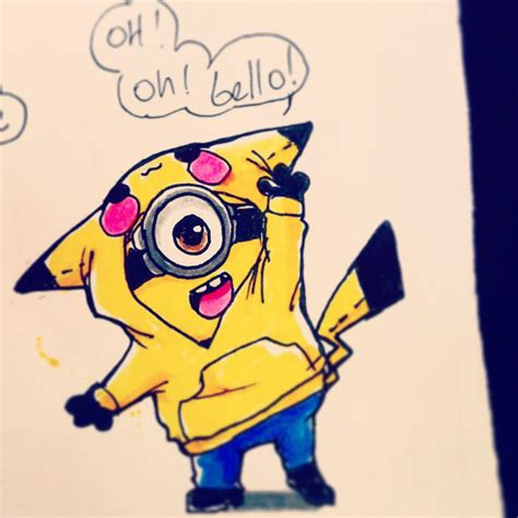 imagenes de los minions kawaii minion pika by konniwa on deviantart
