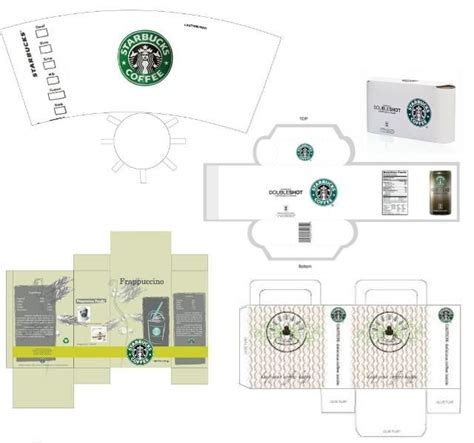 starbucks coffee cup template starbucks dolls