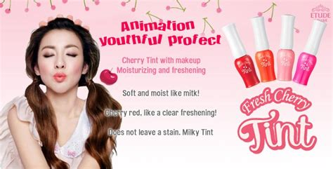 Lipstik Dari Etude etude house fresh cherry tint miss lie collection