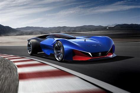 sport car peugeot peugeot dished out a delicious hybrid sports car concept