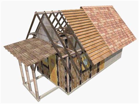 Tikar Bambu Bamboo Murah konstruksi dinding bambu
