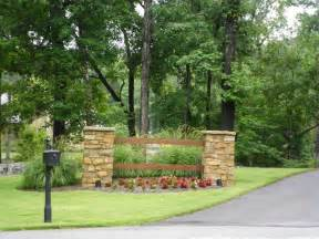 whinter share driveway entrance landscaping ideas