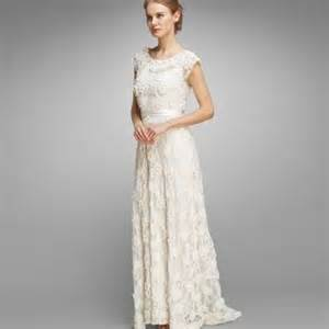 Cream Wedding Dresses For Older Brides Fashion 2017