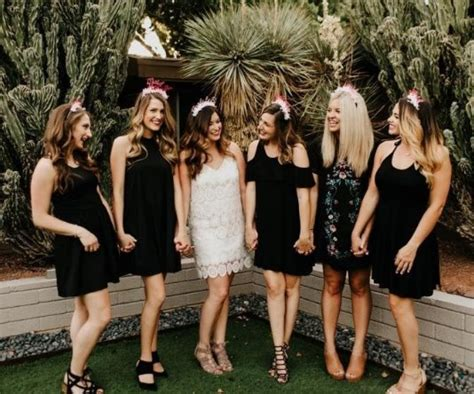 sexy bachelorette party outfit ideas  matching