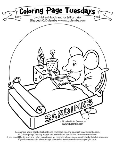 Library Mouse Coloring Page library coloring pages az coloring pages