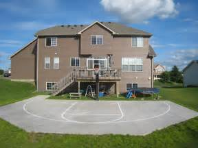 Basketball Court For Backyard » Home Design