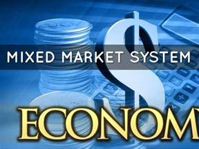 what are the merits and demerits of mixed economy