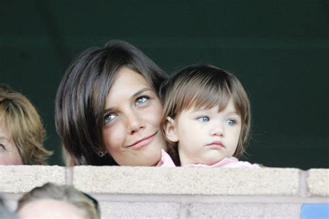 And Suri La Galaxy Vs Chelsea by Photos Suri Cruise A Child In The Middle