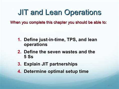 jit layout definition jit lean operations