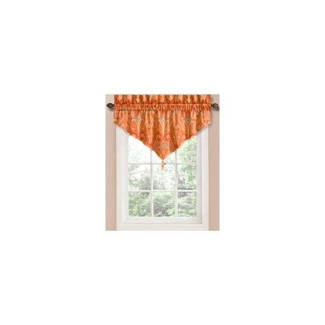 waverly home classics curtains shop waverly waverly home classics 20 in ruby cotton rod