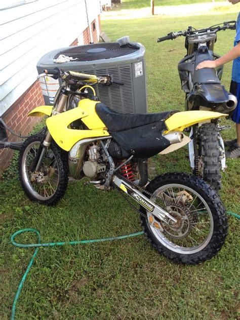 Suzuki 125 Dirt Bike 2 Stroke 2004 Rm 100 Dirt Bike 2 Stroke