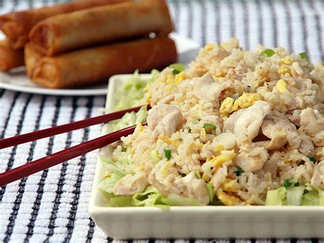 chicken  salted fish fried rice ang sarap