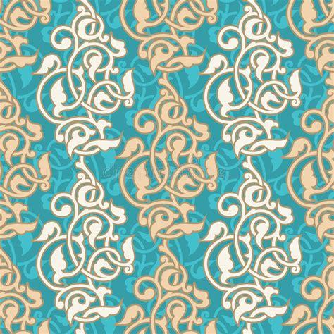 oriental arabesque pattern vector free arabesque seamless pattern stock vector illustration of