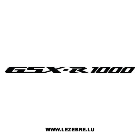 Sticker Moto Suzuki Gsx R by Sticker Suzuki Gsx R 1000
